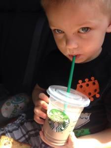 My superhero grandson