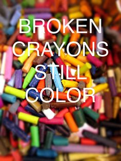 Broken Crayons Still Color Author Sandra Hersey Keys To